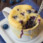 Blueberry Mug Muffin | Stay at Home Mum.com.au