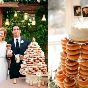 These Cute Doughnut Wedding Cakes Will Save You Some Cash!