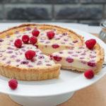 Raspberry White Chocolate Tart   Stay at Home Mum.com.au