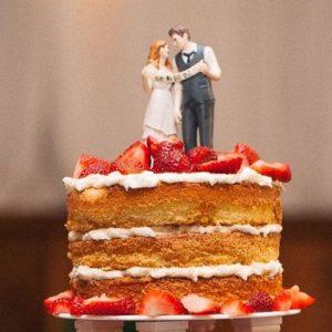 17 Non-Traditional Wedding Cake Ideas