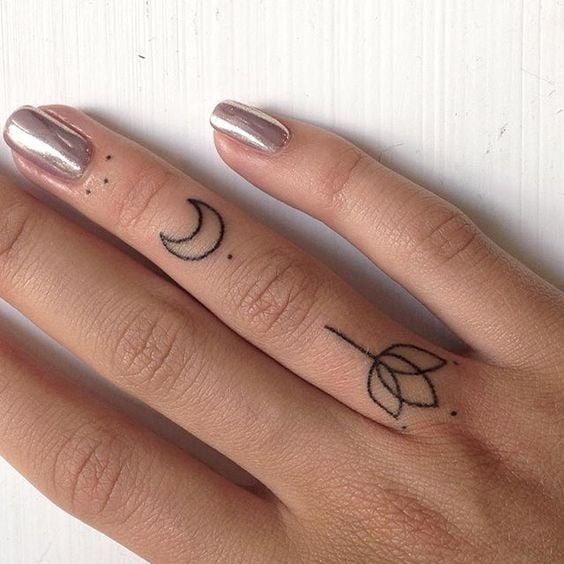 cb96f7bdb8878 60 Deliciously Tiny Finger Tattoos