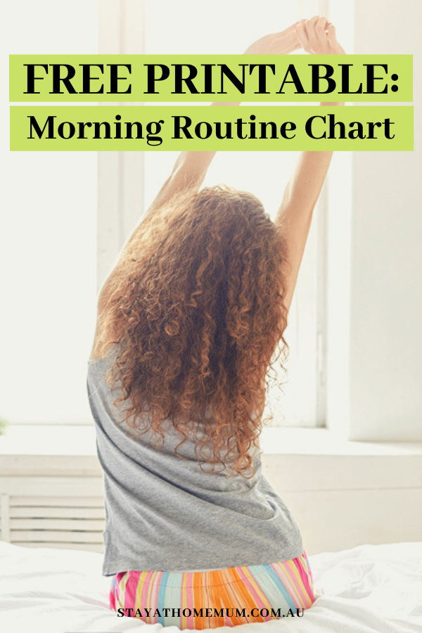 FREE Printable: Morning Routine Chart