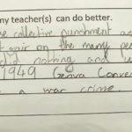 11-Year-Old Girl's Hilarious Note To Teacher Accusing Her Of War Crime Goes Viral | Stay at Home Mum
