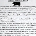 Mum Makes House Rules For Her Daughter That Made The Internet Go Wild | Stay at Home Mum