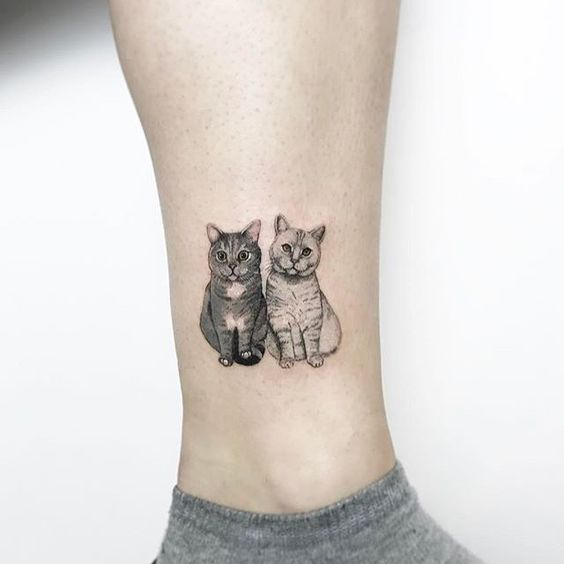 33 Mesmerising Cat Tattoos So Your Little Friend Can Live Forever | Stay At Home Mum