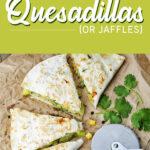 Broccoli and Garlic Quesadillas or Jaffles   Stay at Home Mum.com.au
