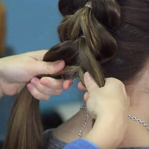 Pull-Through Braid with Fishtail Combo