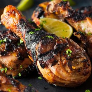 Honey Soy Barbecued Chicken Pieces