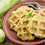 How to Make Zucchini Waffles | Stay at Home Mum
