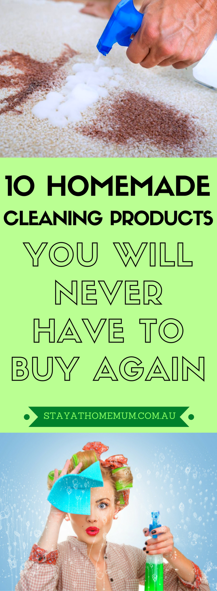 10 Homemade Cleaning Products You Will Never Have to Buy Again