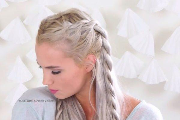 WATCH: These Rope Twist Braids Will Make You Feel Like A Khaleesi!