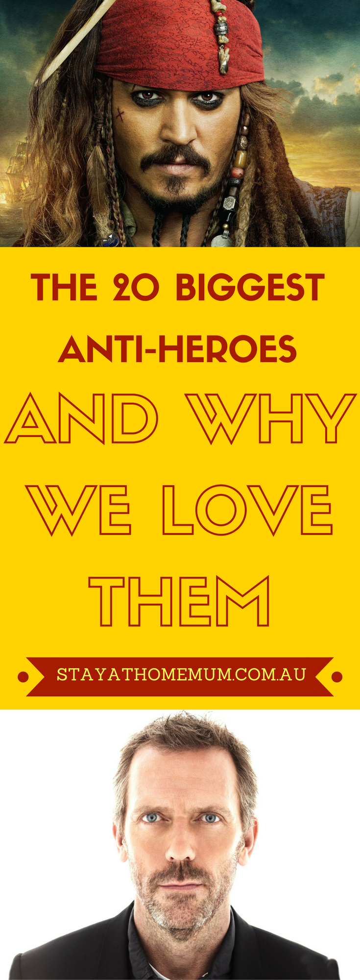 The 20 Biggest Anti-Heroes and Why We Love Them