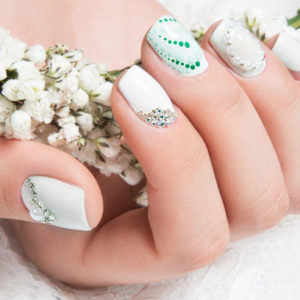 20+ Pretty Nail Arts For The Bride to Be