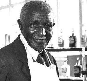A black man