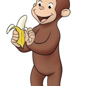 Curious George without a tail
