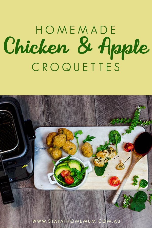Homemade Chicken and Apple Croquettes