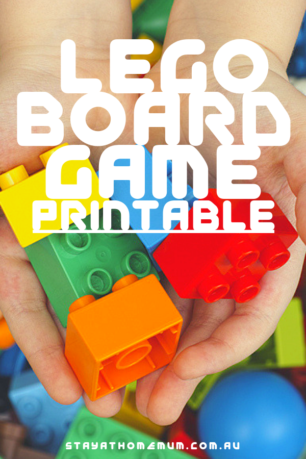 Lego Board Game Printable | Stay At Home Mum