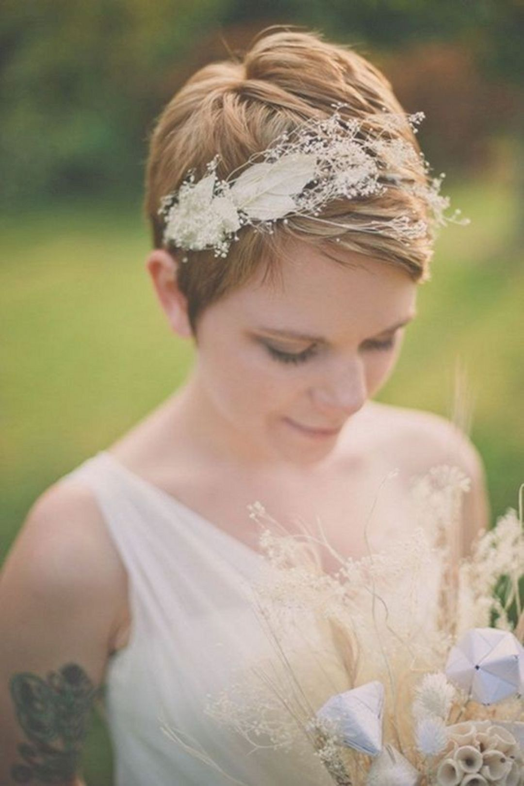 Wedding Hairstyles for Short Hair | Stay at Home Mum.com.au