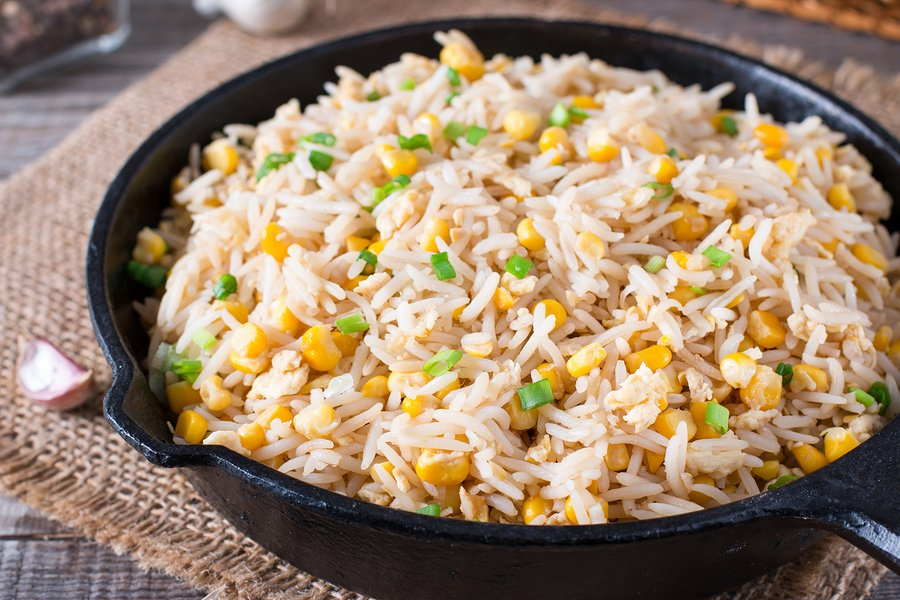 bigstock Asian Fried Rice With Eggs And 233277232 | Stay at Home Mum.com.au