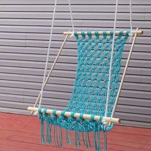 How to Make a Macrame Hanging Chair at Home