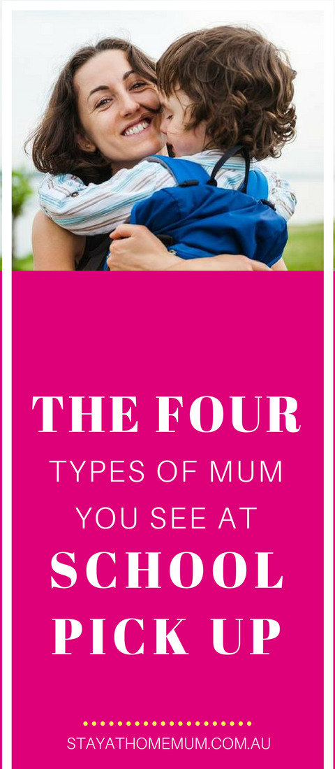 The Four Types of Mum You See at School Pick Up