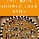 8 Epic Baby Shower Cake Fails | Stay at Home Mum