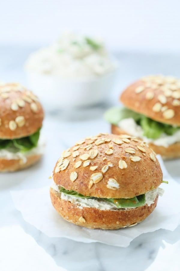 cream cheese tuna spread sandwiches | Stay at Home Mum.com.au