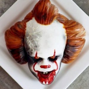 WATCH: How To Make A SPOOKY Clown Cake