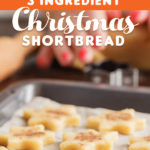 3 Ingredient Christmas Shortbread