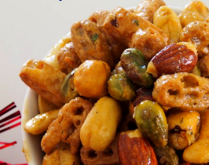 Nuts and Bolts Crunchy Snack Mix 683x1024 e1510646256753   Stay at Home Mum.com.au