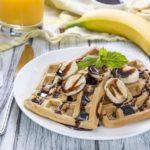 Paleo Banana Waffles | Stay at Home Mum