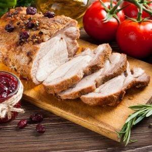 Slow Cooker Cranberry Pork Loin Roast