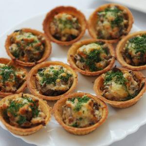 Mini Caramelised Onion Tartlets