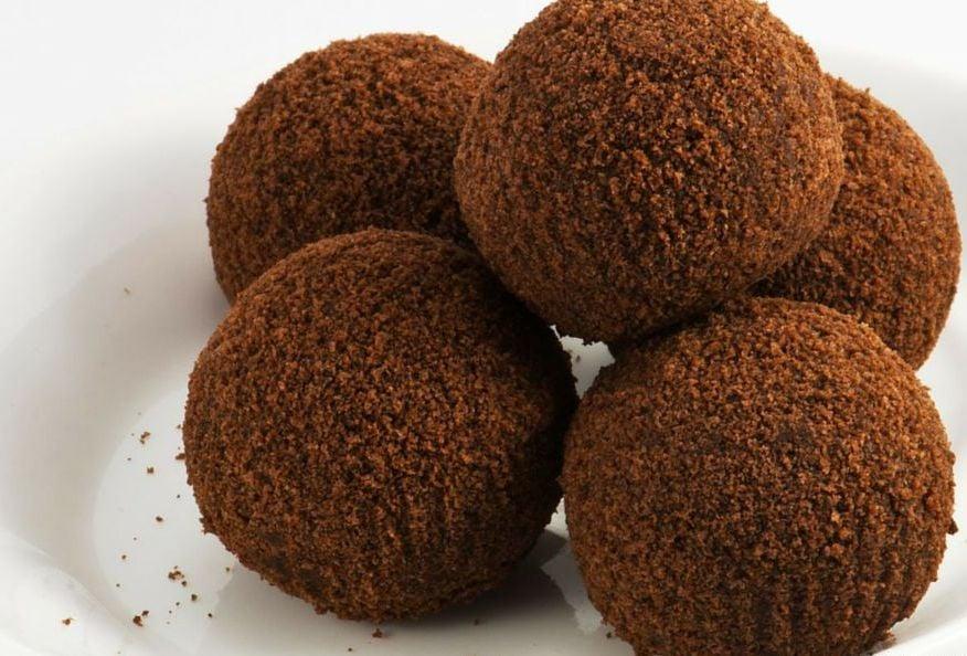 Chocolate Condensed Milk Balls