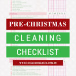 Pre-Christmas Cleaning Checklist