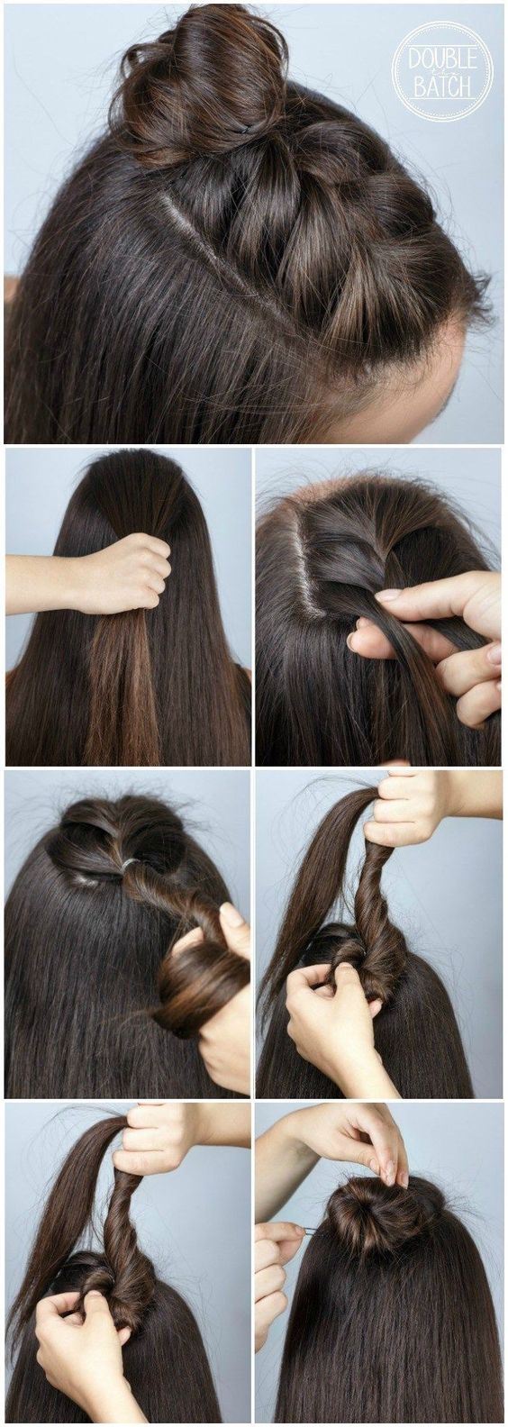 10 Quick and Easy Back-to-School Hairstyle Tutorials
