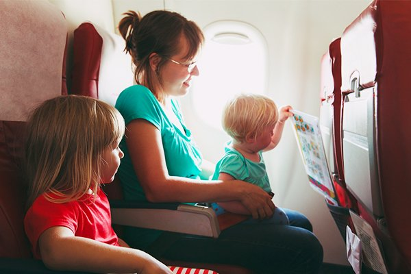 15 Tips For A Stress-Free Plane Travel With Kids