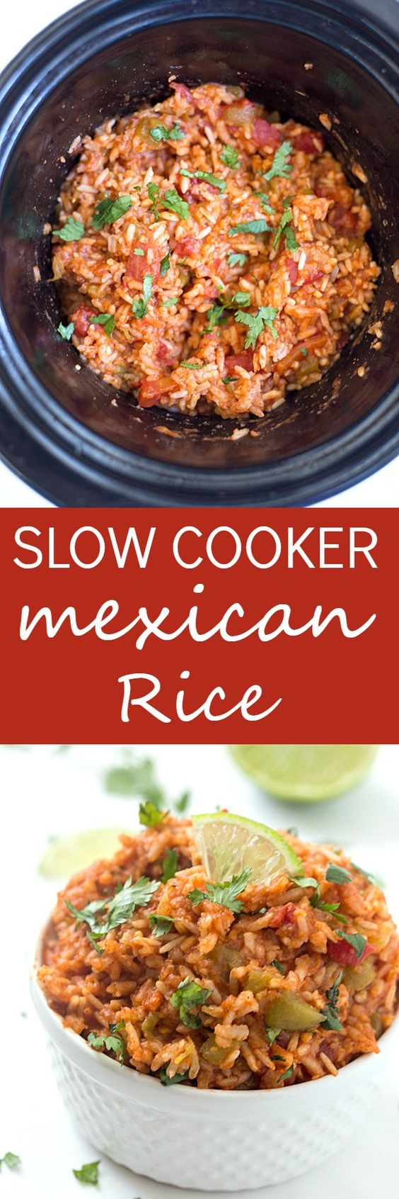 Slow Cooker Mexican Rice | Stay At Home Mum