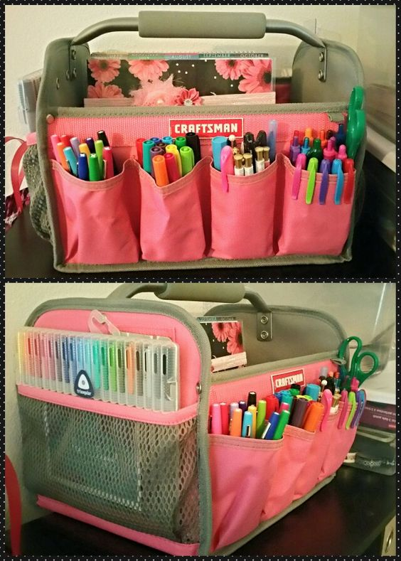Nifty Ways to Store and Organise Kids Art Supplies | Stay At Home Mum