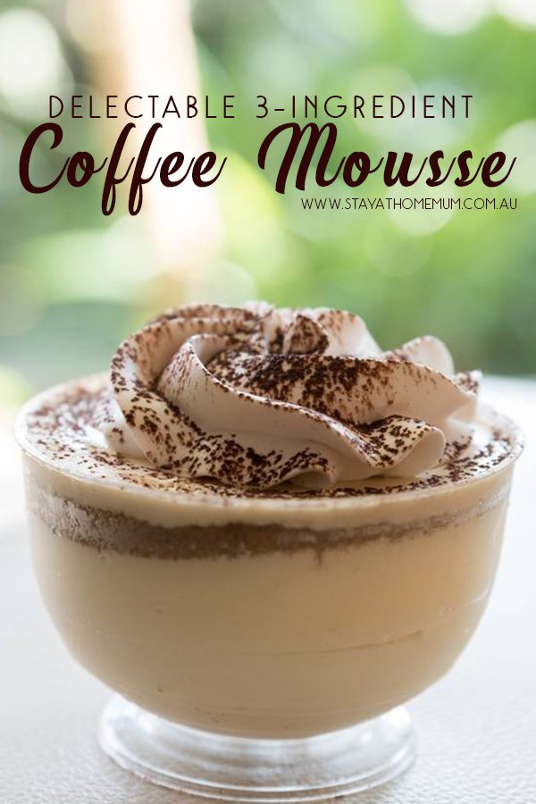 Delectable 3-Ingredient Coffee Mousse