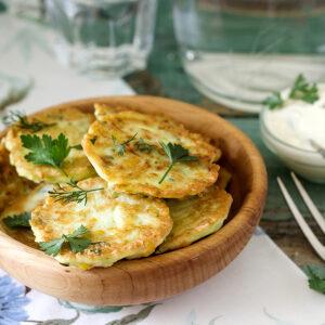 Frugal Hidden Veggie Pancakes
