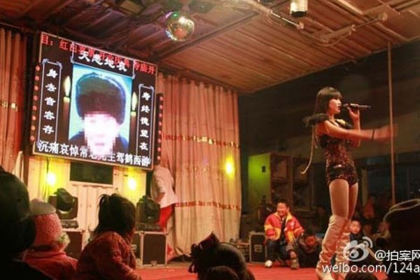 Funeral Strippers Are Actually A Thing In China!