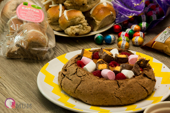 Hot Salted Caramel Chocolate Easter Cob Loaf | Stay At Home Mum