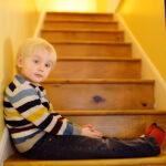 bigstock Cute Little Boy In Striped Jum 269590213 | Stay at Home Mum.com.au