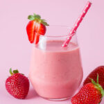Strawberry Delight Smoothie | Stay at Home Mum