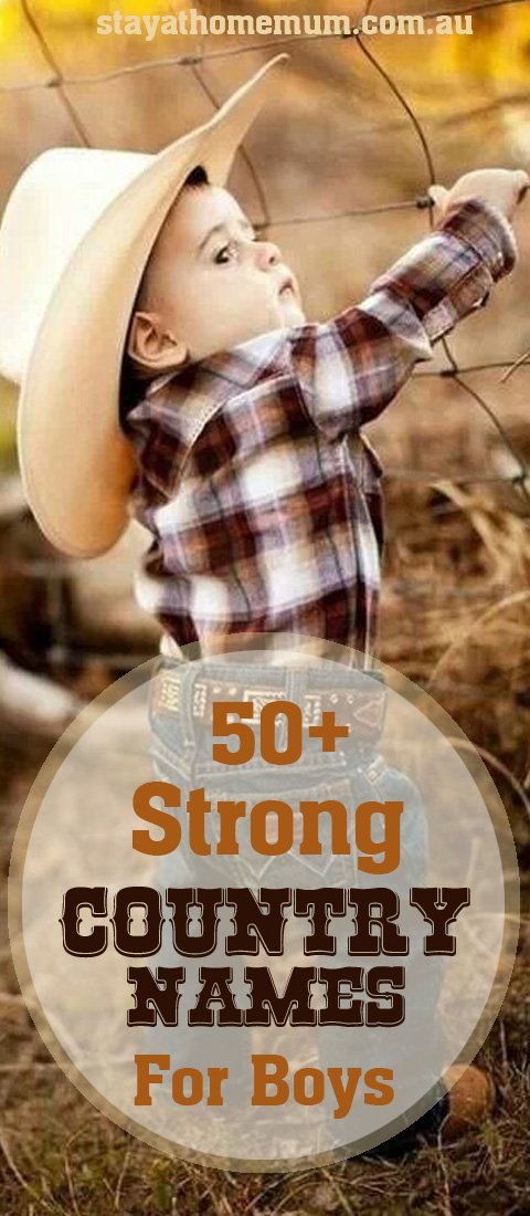 50+ Strong Country Names for Boys | Stay at Home Mum