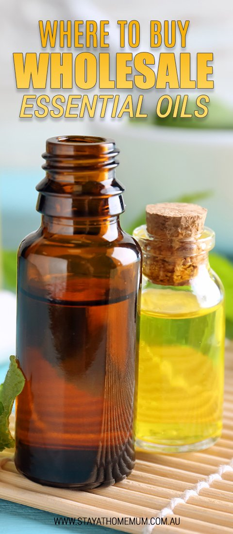 Where to Buy Wholesale Essential Oils