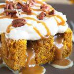 orig pumpkin caramel poke cake 20180807120251406061r9a8vn | Stay at Home Mum.com.au