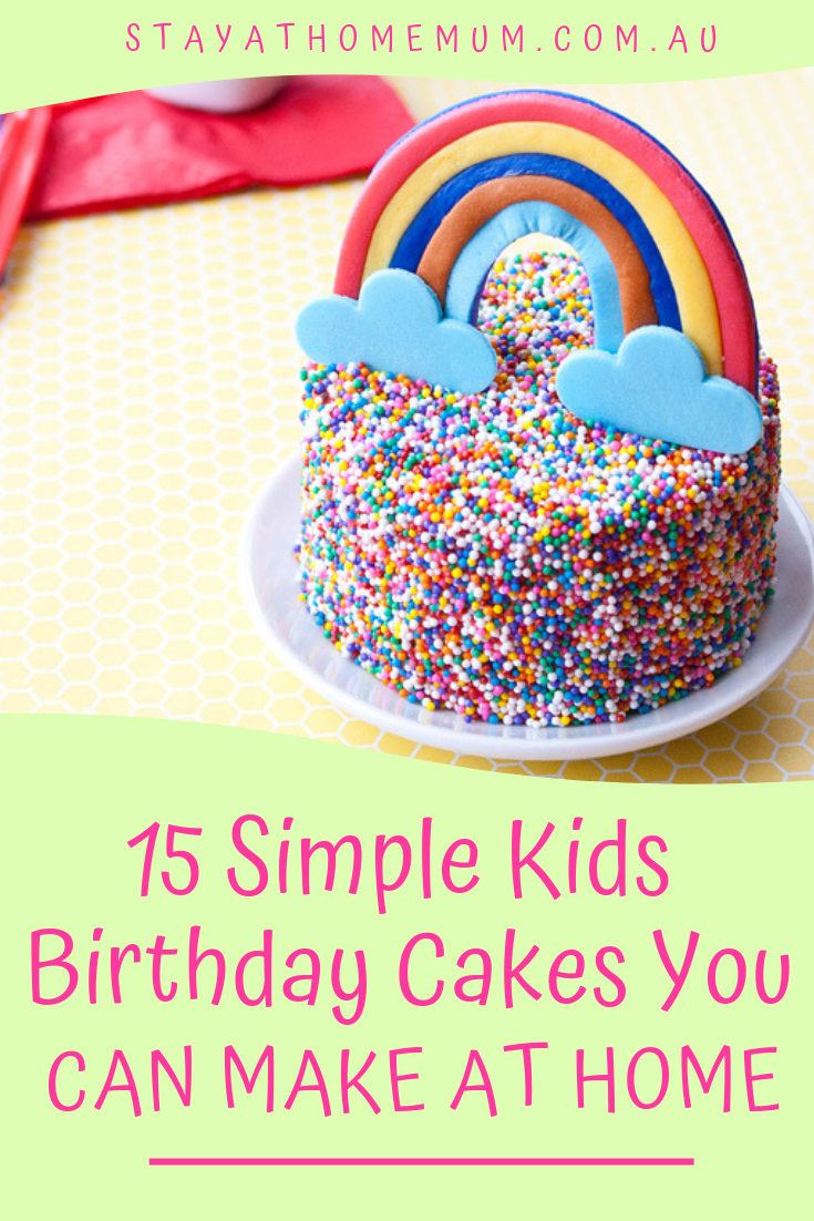 Do You Have Any Simple Birthday Cake Ideas Share Them With Us