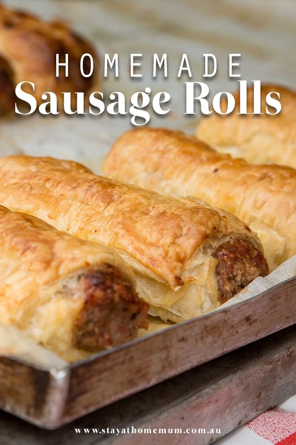 Homemade Sausage Rolls | Stay At Home Mum